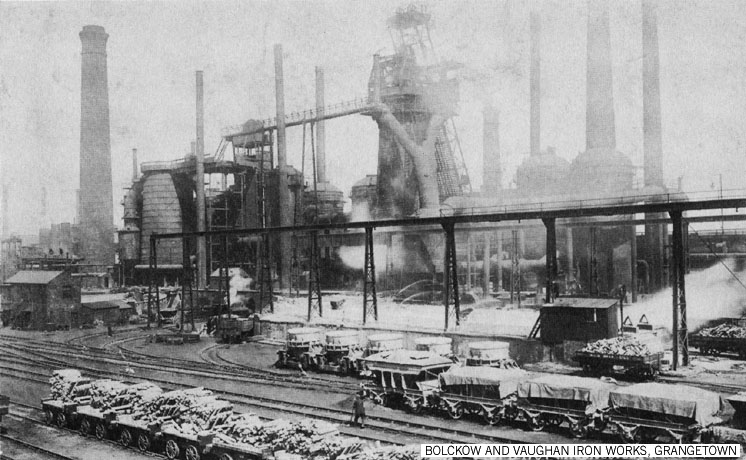 Bolckow and Vaughan Iron Works Grangetown 1907